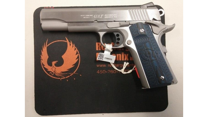 Colt Competition Pistol 1911 Stainless Steel