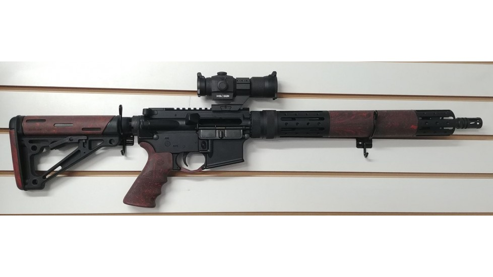 DPMS Hogue package red lava